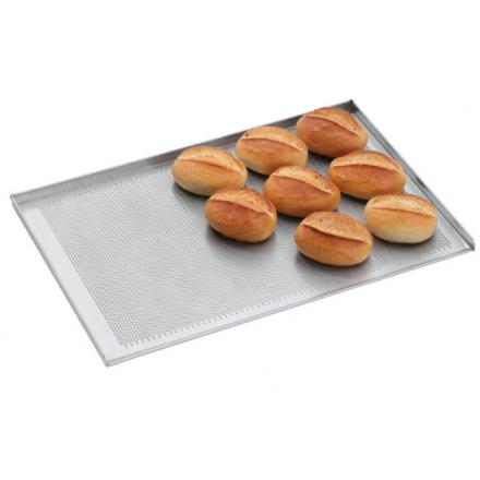 Plaque de four pâtissière perforée en aluminium BARTSCHER 600x400mm