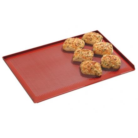 Plaque de four pâtissière perforée BARTSCHER 600x400mm silicone
