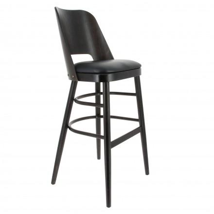 Chaise haute de restaurant ATELIER en bois