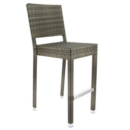 Chaise haute TOUQUET gris