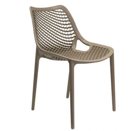 Chaise MONACO taupe