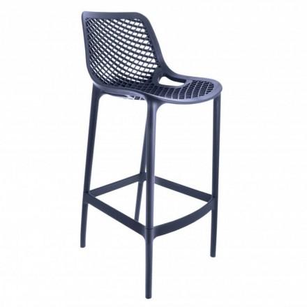 Chaise haute MONACO anthracite
