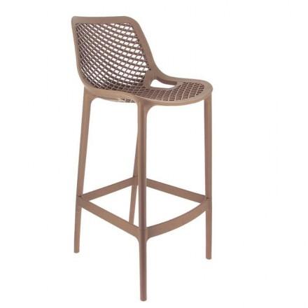 Chaise haute MONACO taupe