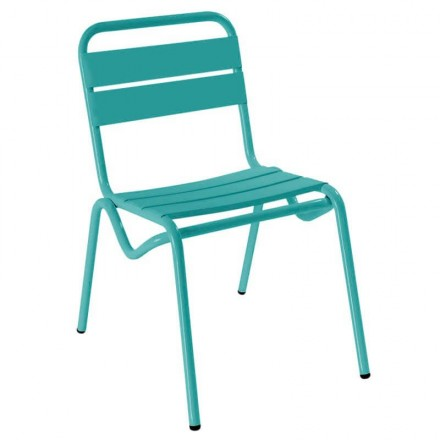 Chaise CASSIS turquoise