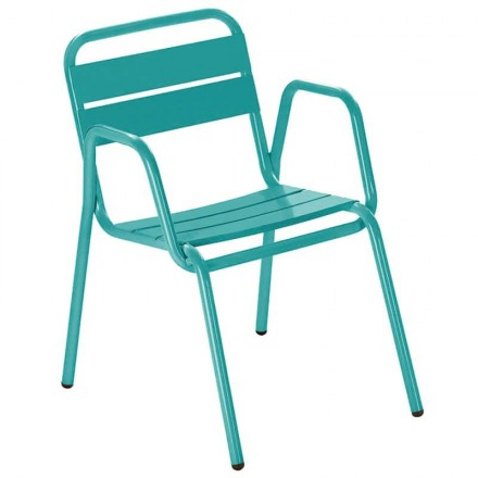 Fauteuil CASSIS turquoise