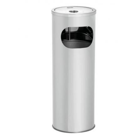 Combi cendrier/poubelle inox bartscher KOMBI11L