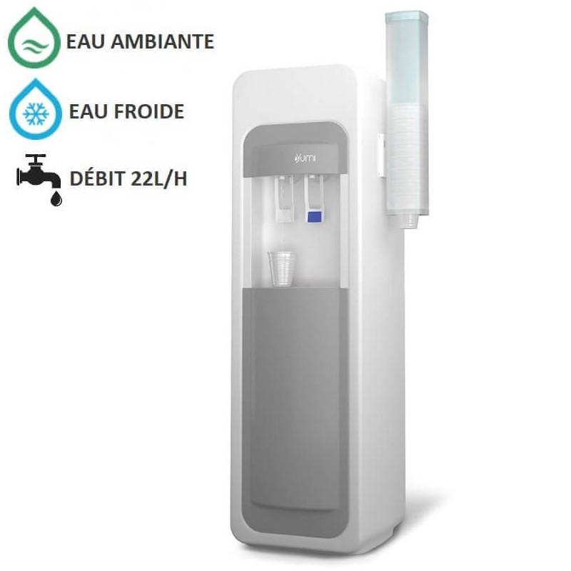 Fontaine à eau réfrigérée professionnelle YUMI-A - COSMETAL