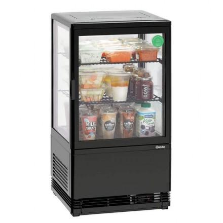 Mini vitrine réfrigérée noire 58L BARTSCHER