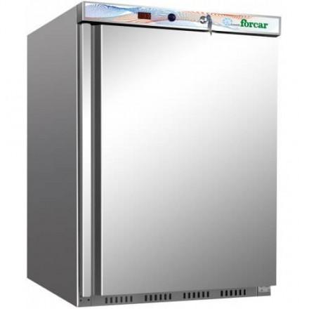 Mini armoire réfrigérée 200L inox Forcar