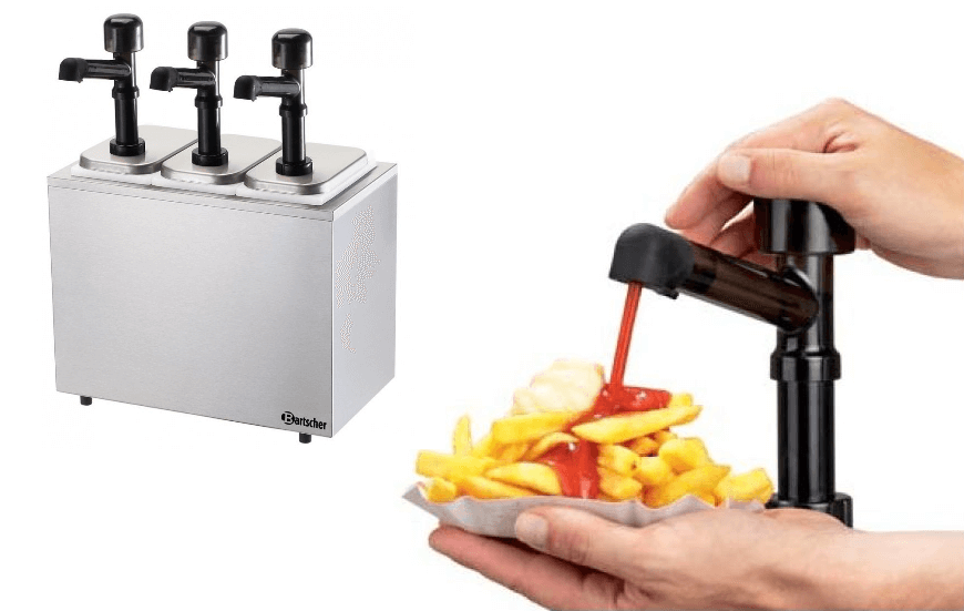 Pompes à sauces
