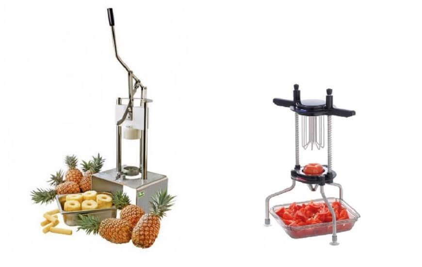 Coupe-fruits et coupe-légumes manuels