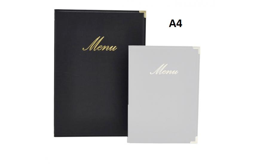 Protège-menus A4