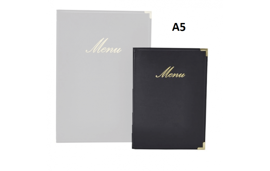 Protège-menus A5