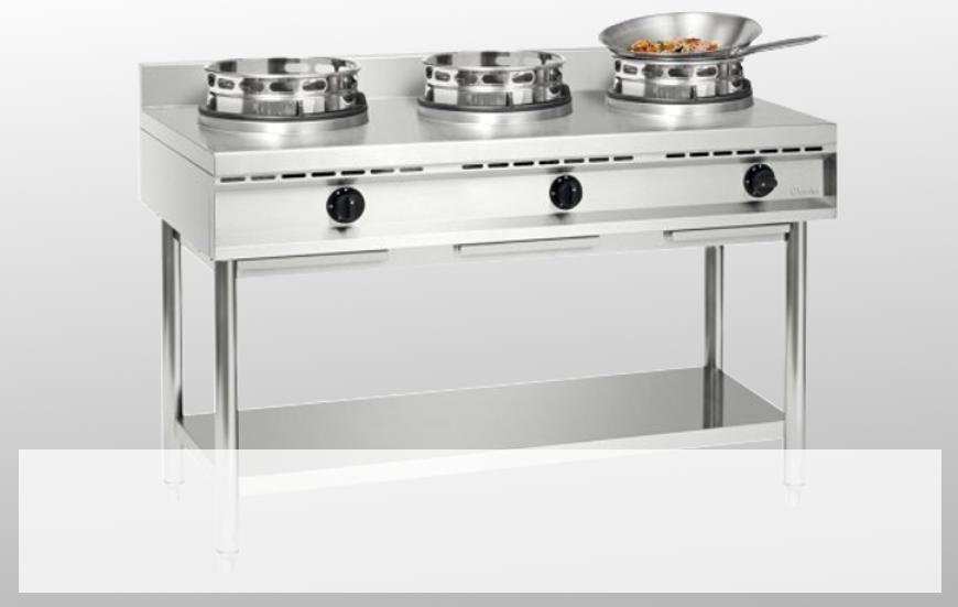Cuiseur wok à gaz